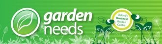 Logo tuincentrum Garden Needs