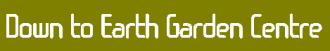 Logo tuincentrum Down To Earth Garden Centre