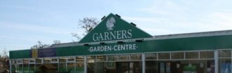 Logo tuincentrum Garners Garden Centre