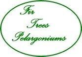 Logo Fir Trees Pelargonium Nursery