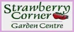 Logo tuincentrum Strawberry Corner Garden Centre