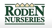 Logo tuincentrum Roden Nurseries