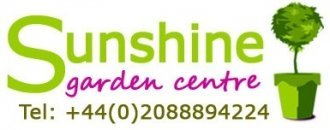 Logo tuincentrum Sunshine Garden Centre