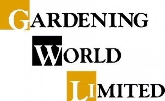 Logo tuincentrum Gardening World