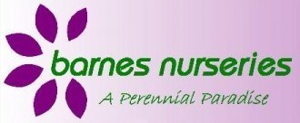 Logo tuincentrum Barnes Nurseries