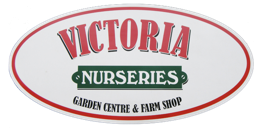 Logo tuincentrum Victoria Nurseries