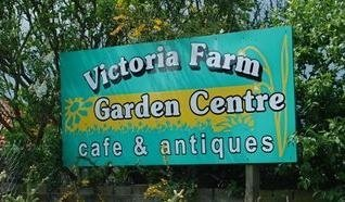 Logo tuincentrum Victoria Farm Garden Centre