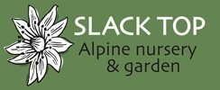 Logo tuincentrum Slack Top Nurseries