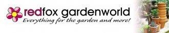 Logo tuincentrum Redfox Gardenworld
