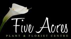 Logo Five Acres Plant Centre