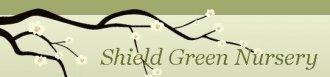 Logo tuincentrum Shield Green Nursery