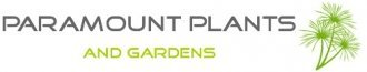 Logo tuincentrum Paramount Plants and Gardens