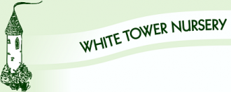 Logo tuincentrum White Tower Nursery
