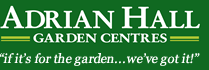 Logo tuincentrum Adrian Hall Garden Centre - Sheen
