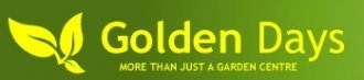 Logo tuincentrum Golden Days Garden Centre