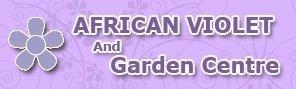 Logo tuincentrum African Violet Centre