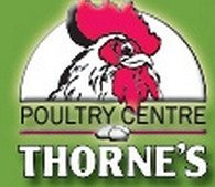 Logo tuincentrum Thornes Garden Nursery & Poultry Centre