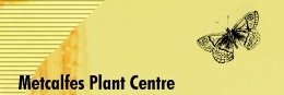 Logo tuincentrum A & M Metcalfe Plant Centre