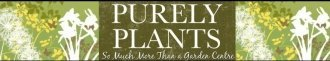 Logo tuincentrum Purely Plants