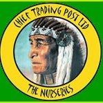 Logo tuincentrum Chief Trading Post