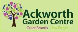 Logo tuincentrum Ackworths Garden Centre