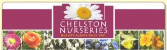 Logo tuincentrum Chelston Nurseries