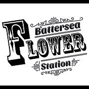 Logo tuincentrum Battersea Flower Station