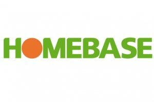 Logo tuincentrum Homebase London Wimbledon