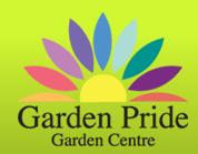 Logo tuincentrum Garden Pride