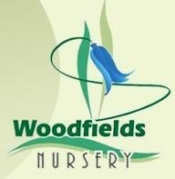 Logo tuincentrum Woodfield Nursery