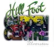 Logo tuincentrum Hill Foot Garden Centre