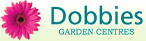 Logo tuincentrum Dobbies Garden World Gillingham