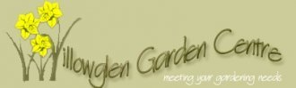 Logo tuincentrum Willowglen Garden Centre