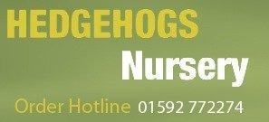 Logo tuincentrum Hedgehogs Nursery & Garden Centre