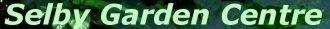Logo Selby Garden Centre