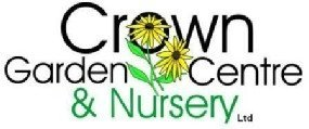 Logo tuincentrum Crown Garden Centre