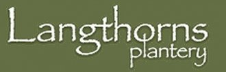 Logo tuincentrum Langthorns Plantery