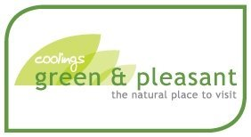 Logo tuincentrum Coolings Green & Pleasant