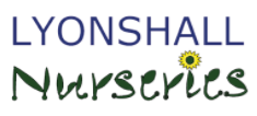 Logo tuincentrum Lyonshall Nurseries and Garden Centre