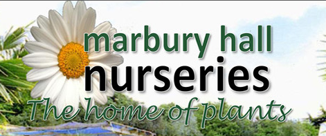 Logo tuincentrum Marbury Hall Nurseries