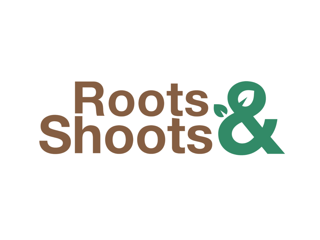 Logo tuincentrum Roots & Shoots Garden Centre