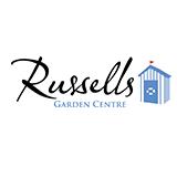 Logo tuincentrum Russells Garden Centre