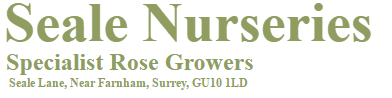 Logo tuincentrum Seale Nurseries