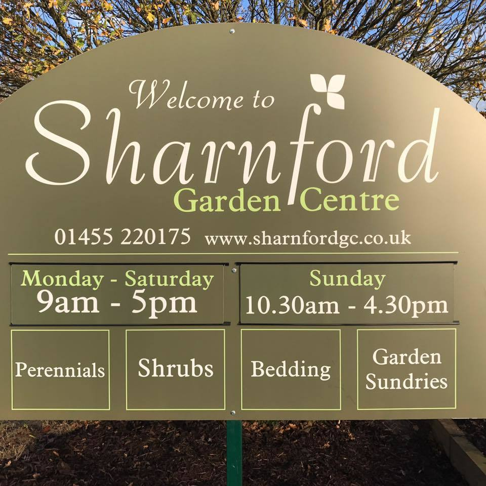 Logo tuincentrum Sharnford Garden Centre