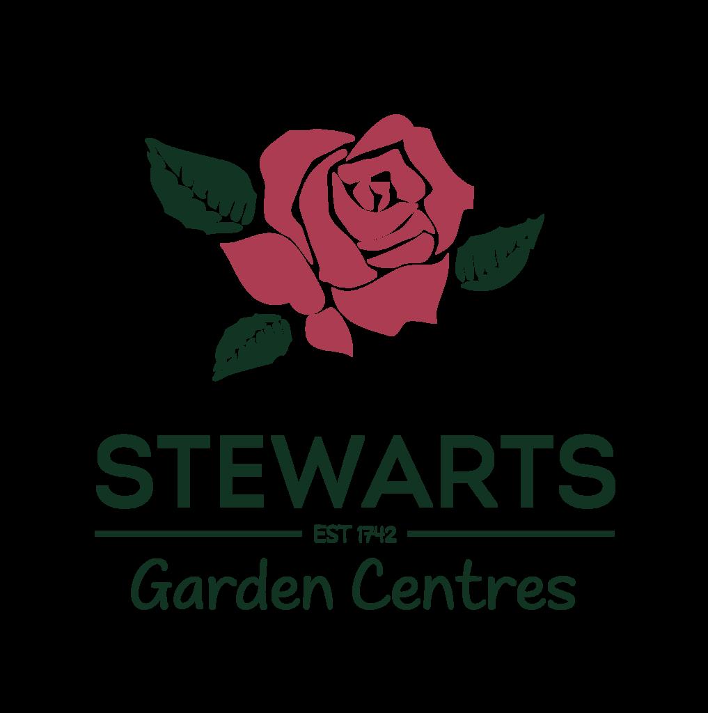 Logo tuincentrum Stewarts Broomhill Garden Centre