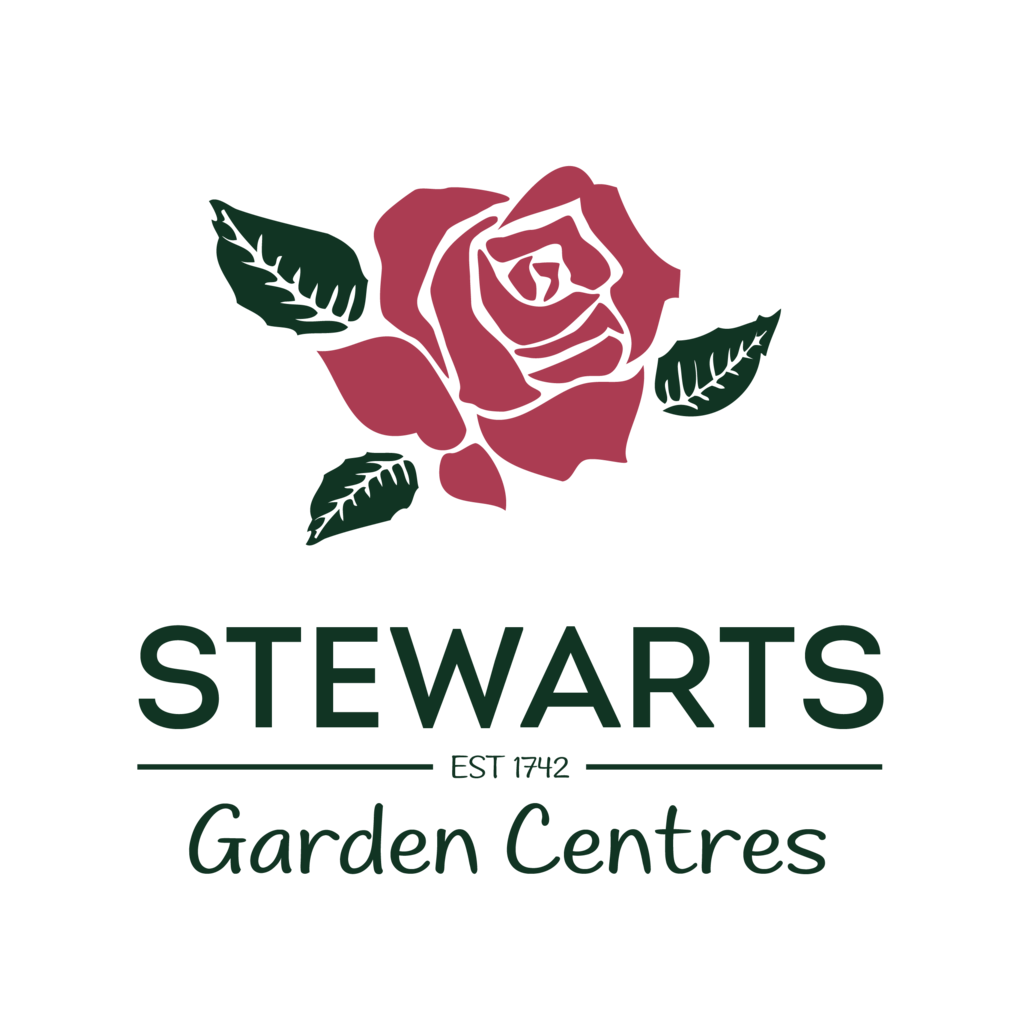 Logo tuincentrum Stewarts Christchurch Garden Centre