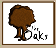 Logo tuincentrum The Oaks Garden Centre