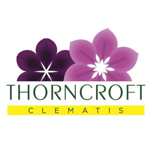 Logo tuincentrum Thorncroft Clematis