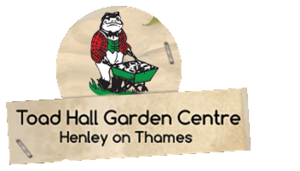 Logo tuincentrum Toad Hall Garden Centre