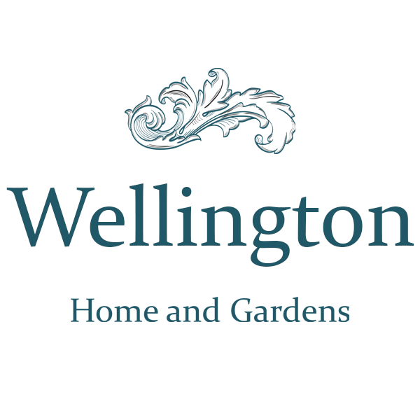 Logo tuincentrum Wellington Home and Gardens